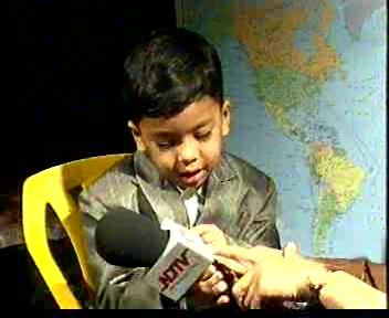 Youngest stamp collector in the world from SECUNDERABAD south india AP.